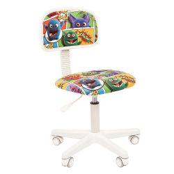 Кресло детское CHAIRMAN KIDS 101, обивка монстры