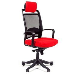 Кресло  офисное CHAIRMAN 283 красное