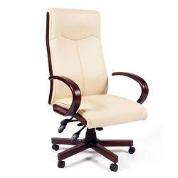 Кресло  для руководителя CHAIRMAN 411 бежевое