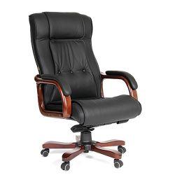 Кресло для руководителя CHAIRMAN 653 черное