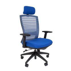 Кресло для руководителя CHAIRMAN 285, синий