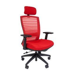 Кресло для руководителя CHAIRMAN 285, красный