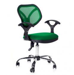 Кресло компьютерное CHAIRMAN 380 зеленое