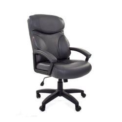 Кресло для руководителя CHAIRMAN 435 LT серое