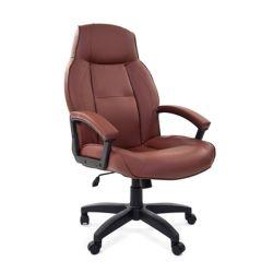 Кресло для руководителя CHAIRMAN 436 LT коричневое