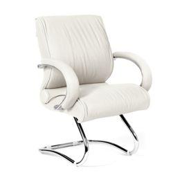 Кресло для посетителя CHAIRMAN 445 белое