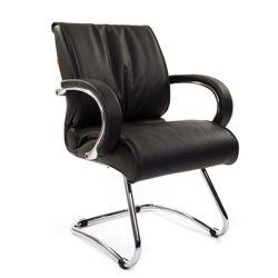 Кресло для посетителя CHAIRMAN 445 черное