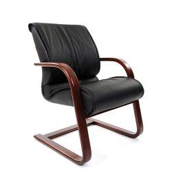 Кресло для посетителя CHAIRMAN 445 WD черное