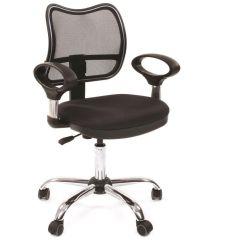 Кресло для персонала CHAIRMAN CH 450 хром черное