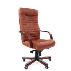 Кресло для руководителя CHAIRMAN 480 WD коричневое