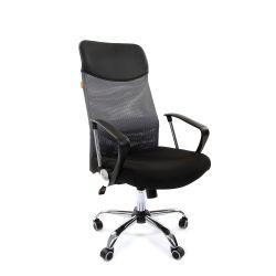 Кресло для руководителя CHAIRMAN 610, серое