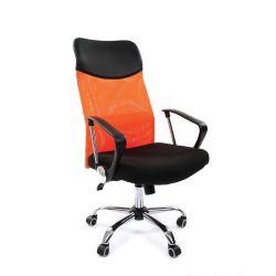 Кресло для руководителя CHAIRMAN 610, оранжевое