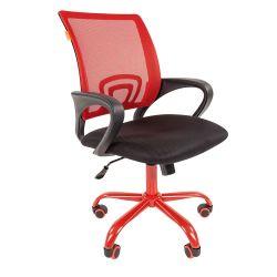 Кресло офисное CHAIRMAN 696 CMET красное