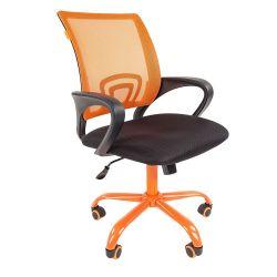 Кресло офисное CHAIRMAN 696 CMET оранжевое