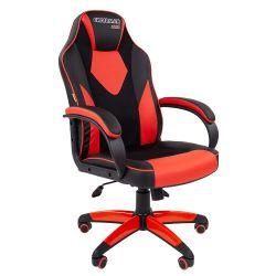 Кресло CHAIRMAN Game 17 черно/красное