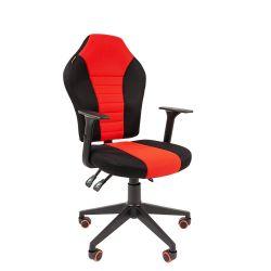 Кресло  CHAIRMAN Game 8, черно/красное