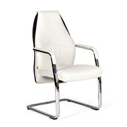 Кресло для посетителя CHAIRMAN Basic V Эко белое