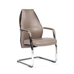 Кресло для посетителя CHAIRMAN Basic V эко серое