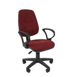 Кресло для персонала Chairman 652, бордовое