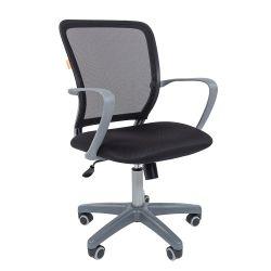 Кресло офисное CHAIRMAN 698 grey черное