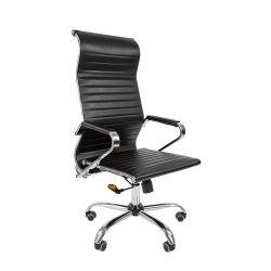 Кресло для руководителя CHAIRMAN 701 Эко черное