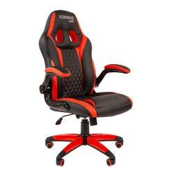 Кресло CHAIRMAN Game 15 черно/красное
