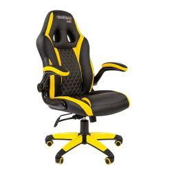 Кресло CHAIRMAN Game 15 черно/желтое