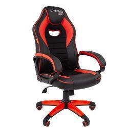 Кресло CHAIRMAN Game 16 черно/красное