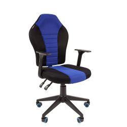 Кресло  CHAIRMAN Game 8, черно/синее