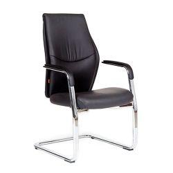 Кресло для посетителя CHAIRMAN Vista V Эко черное