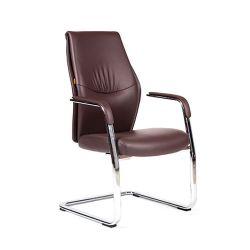 Кресло для посетителя CHAIRMAN Vista V Эко коричневое