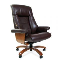 Кресло руководителя CHAIRMAN 400, коричневое