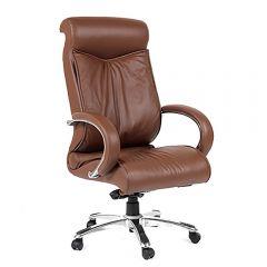 Кресло руководителя CHAIRMAN 420 коричневое