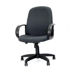 Кресло руководителя CHAIRMAN 279M серое, ткань JP
